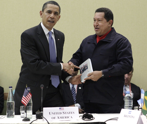 More Obama and Chavez Photos