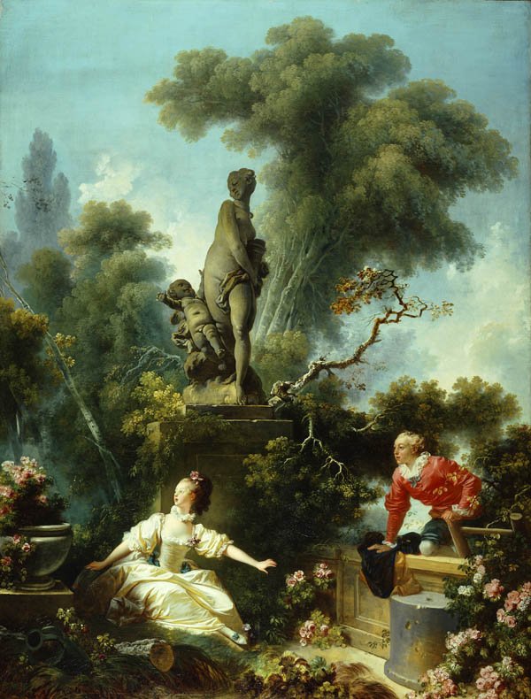The Meeting, Jean Honore Fragonard, 1773
