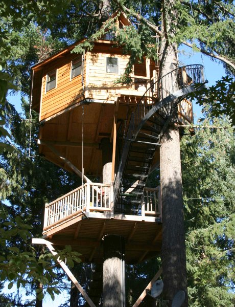 Oregon Treehouse Bed And Breakfast